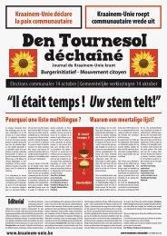 Den Tournesol Déchaîné - Kraainem-Unie