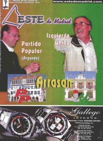 Esta revista es miembro de - Archivo de la Ciudad de Arganda del Rey
