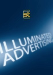 ILLUMINATED ADVERTISING - Struck Leuchten GmbH & Co. KG