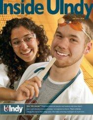 08-Summer 2010.pdf - University of Indianapolis