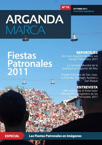 Fiestas Patronales 2011 - Archivo de la Ciudad de Arganda del Rey ...