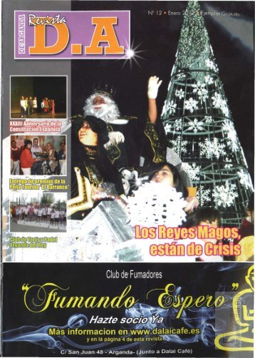 """Revista """" De Arganda D.A."""" - Archivo de la Ciudad de Arganda del ..."""