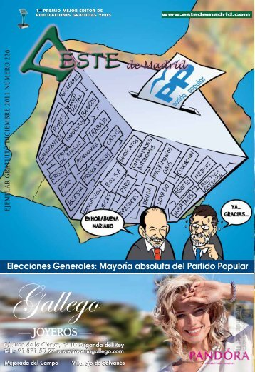 """Revista """" Este de Madrid"""" (1991-2011) - Archivo de la Ciudad de ..."""