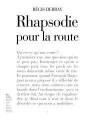 RÉGIS DEBRAY - Le site de la Médiologie