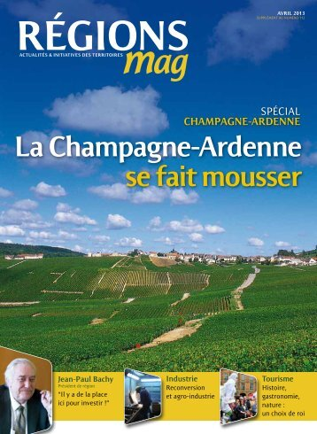La champagne-Ardenne se fait mousser