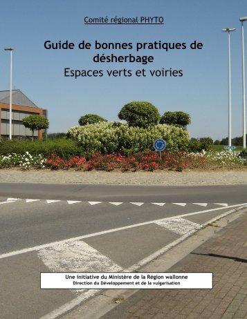 Guide de bonnes pratiques de désherbage Espaces verts et voiries