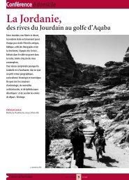 La Jordanie, du Jourdain au golfe d'Aqaba - Arts et Vie