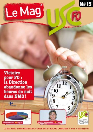 Le Mag N°15 - FO Carrefour