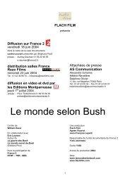 Le monde selon Bush - Flach Film