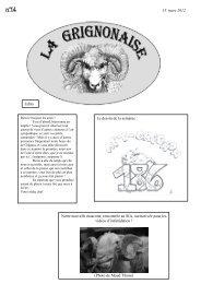 13 mars 2012 Edito Notre nouvelle mascotte ... - AgroParisTech