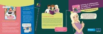 Enfants et adolescents accueillis en protection de l'enfance