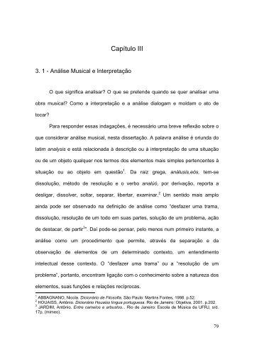 Capítulo III - Biblioteca Digital de Teses e Dissertações da UFMG