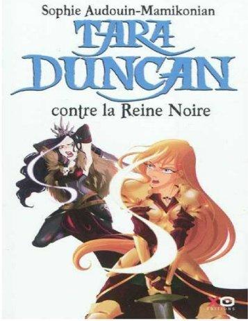 Tara Ducan contre la Reine noire T9