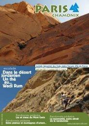 Dans le désert jordanien Un thé au... Wadi Rum - Club alpin français ...