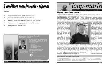 Télécharger le PDF - Village de Pointe-Verte