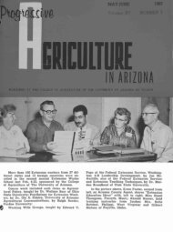 IN ARIZONA - The University of Arizona Campus Repository