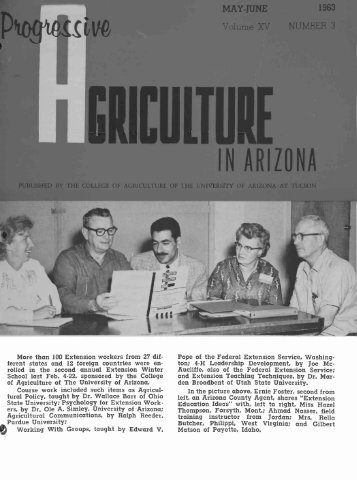 IN ARIZONA - The University of Arizona Campus Repository
