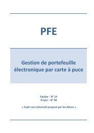 Gestion de portefeuille électronique par carte à puce - Arnaud ...