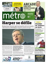 journal metro montreal 28 mars 2011