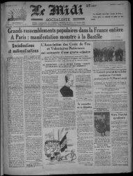 A Paris : manifestation monstre à la Bastille - Bibliothèque de ...