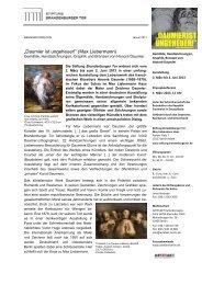 Pressemitteilung (PDF, 195 kB) - Stiftung Brandenburger Tor