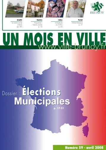 Dossier : Élections - Brunoy