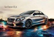 Télécharger la brochure du nouveau CLA Coupé ... - Mercedes-Benz