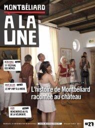 Montbéliard à la Une n°27