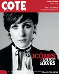 MUST HAVES - Cote Magazine