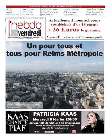 REIMS - n°287 - L'Hebdo du Vendredi