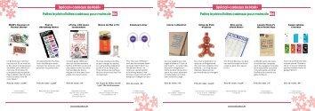 Spécial Cadeaux de Noël 2011 - Le Bonbon.fr