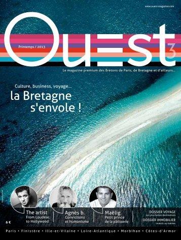 la Bretagne s'envole ! - Ouest Magazine