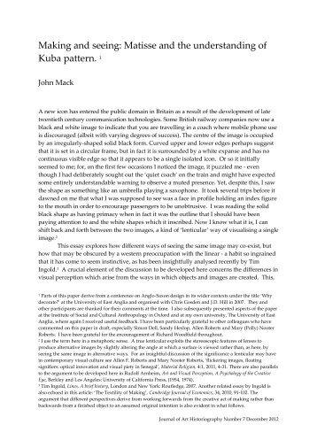 7-JM/1 - Journal of Art Historiography