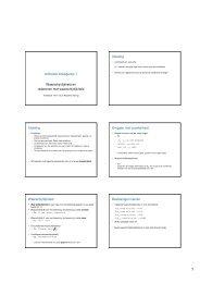 Slides van de les (pdf, 843kB)