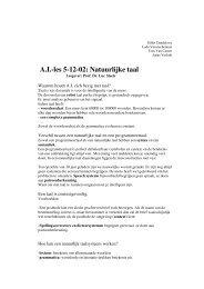 Samenvatting van de les (pdf, 39kB)