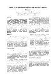 Estudo de Transdutores para Sistemas de ... - Artigo Científico