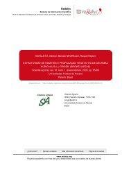 Redalyc.EXTRATIVISMO DE RAMETES E ... - Artigo Científico