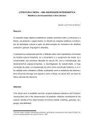 LITERATURA E MODA – UMA ABORDAGEM ... - Artigo Científico