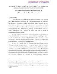 UMA HISTÓRIA DE (DES) - Artigo Científico - Uol
