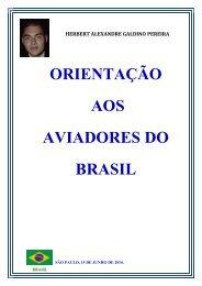 ORIENTAÇÃO AOS AVIADORES DO BRASIL - Artigo Científico