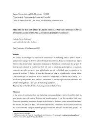 Centro Universitário de Belo Horizonte – UNIBH ... - Artigo Científico