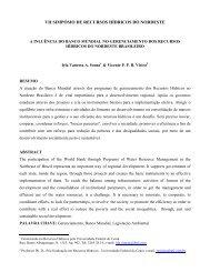 a inluncia do banco mundial no nordeste brasileiro - Artigo Científico