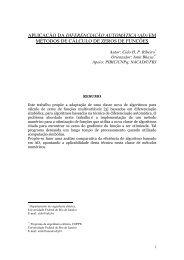 APLICAÇÃO DA DIFERENCIAÇÃO AUTOMÁTICA ... - Artigo Científico