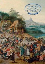 Master Painting Week Catalogue - Art Market Monitor