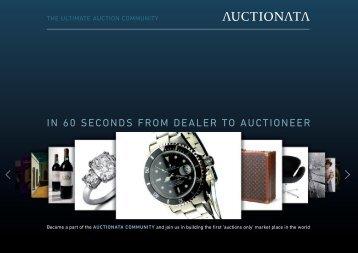 Auctionata Information folder for US dealers - Art Market Monitor
