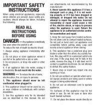 Download Instruction Manual - Conair