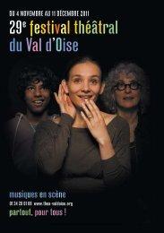 29e festival théâtral du val d'oise - 30 ans