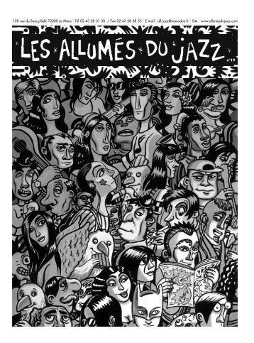 télécharger le journal : n°19 - Les Allumés du Jazz