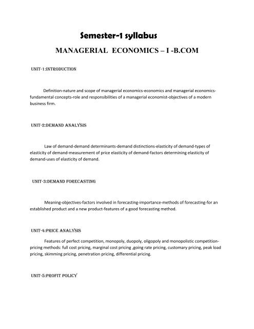 Magrial Economics Uen8e11 Npr Arts And Science College