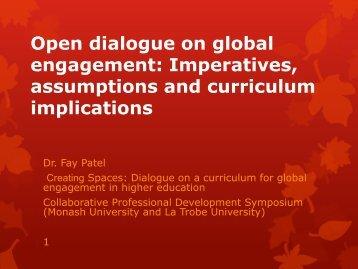 Dr Fay Patel - Monash Arts Profiles - Monash University